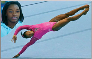 Simone Biles Italian gymnastics team member makes ugly racist remarks about Black gymnast at World Championships