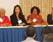 Women leaders learn from one another at Women Empowerment Conference
