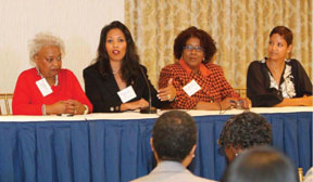 WOMEN LEADERS Women leaders learn from one another at Women Empowerment Conference