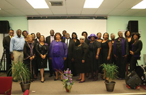 The first graduating class of the Alexander Institute of Biblical Studies, Inc.