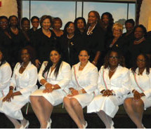 The North Dade Broward County Chapter of The Continental Societies, Inc., in-stalls six new members