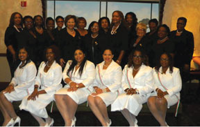 AKA The North Dade Broward County Chapter of The Continental Societies, Inc., in stalls six new members