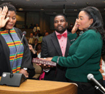 Broward County Commissioners selected Barbara Sharief to serve as Mayor