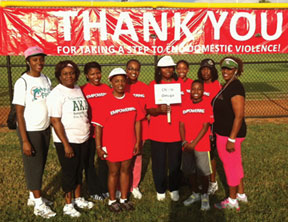Chi Psi Omega Chapter of AKA Sorority, Inc. members participated in the 15th Annual Safe-Walk