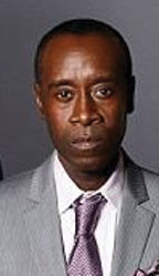 DONALD CHEADLE AND TI Don Cheadle and rapper TI caught in gang gunfire while shooting a TV show