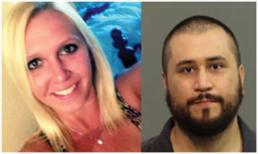 Samantha Scheibe and George Zimmerman