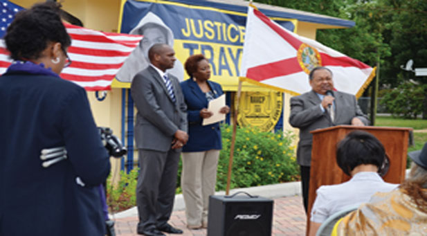 Fort Lauderdale/Broward County NAACP President Marsha Ellison recently unveiled plans to begin a major project which will address the high incidence of minority students who wind up in the juvenile justice system due to school related violations.  (Photos by Anthony Williams)