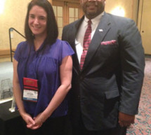 Principal, Martin T. Reid and Kristina Beard were honored at the 2013 Florida Art Educators Association Conference in Daytona Beach, Florida