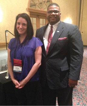 PRINCIAL MARTIN REID Principal, Martin T. Reid and Kristina Beard were honored at the 2013 Florida Art Educators Association Conference in Daytona Beach, Florida