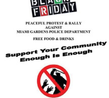 Miami Gardens Protest & Rally