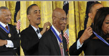 President honors 'True Champions' with Medal of Freedom
