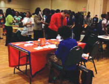Sixth Annual Infinite Scholar Fair held at E. Pat Larkins Community Center a resounding success