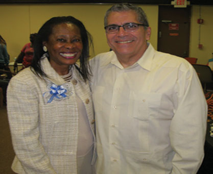 Florida State Rep. Sharon Pritchett  and Miami Dade Public Defender Carlos J. Martinez