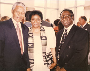 MANDELA NIARA SUDARKASA J Local noted African Scholar and former Lincoln University President,