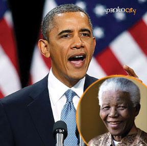 President Obama and President Mandela