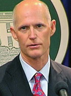 Where is Governor Scott's job plan for African Americans in Florida?