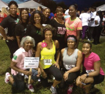 Zeta Rho Omega Chapter participated in the 15th Annual Women in Distress SafeWalk-Run 5K event