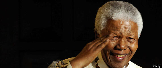 Nelson Mandela, the former South Africa
