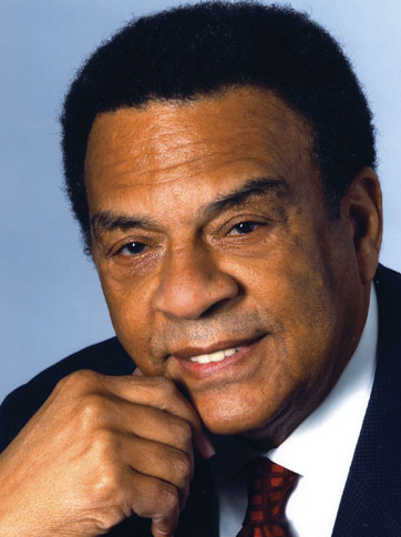 ANDREW YOUNG HEAD SHOT Ambassador Andrew Young commemorates Dr. King's legacy at YMCA Inspirational Breakfast