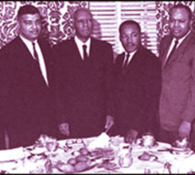 Dr. Martin Luther King, Jr., our 'Drum Major for Justice', and The Big Six