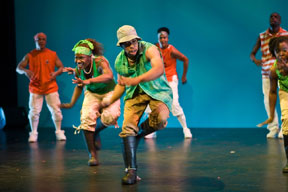 STEP AFRIKA Ryan and Dionne Step Afrika! presents performances and public workshop at the Parker Playhouse