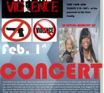 Nicole Grier Stop The Violence Benefit Concert