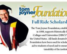 Tom Joyner's giving away money for education, so sign up now