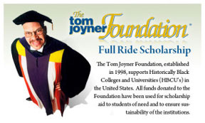 Tom Joyner Tom Joyner's giving away money for education, so sign up now