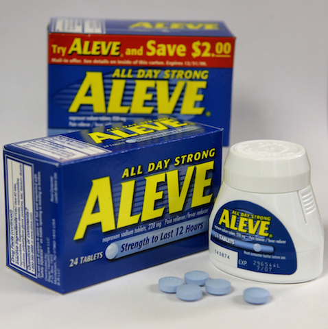 ALEVE PAIN RELIEVER PILLS