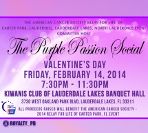 THE PURPLE PASSION SOCIAL