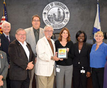 Florida Department of Health in Broward County commends City of North Lauderdale for new smoke-free workplace policy