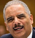 Eric Holder AP Holder favors voting rights for ex felons