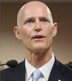 In 2014 election Governor Scott is now an insider