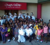 Impact Girls have their first 'Power Lunch' at the Chef's Palette
