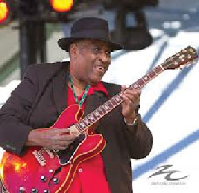 IN HONOR OF BLACK HISTORY M Celebrate, 'The Birth of an American Sound: The Blues', with the Joey Gilmore Band
