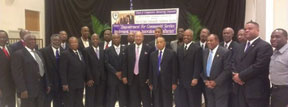 MEN OF DESTINY COLOR Men of Destiny Community Outreach, Inc., honor 'The Living Legends' of Historical Provident Hospital