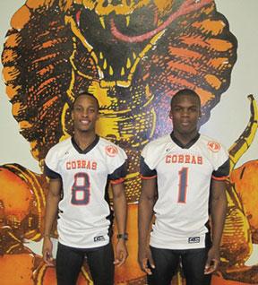 David Senior and Derrick Tindal