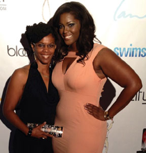 PROUD MONIQUE AND I Proud mother touts daughter's full figure success