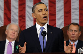 STATE OF UNION 2 President Obama's State of the Union address created challenges, controversy