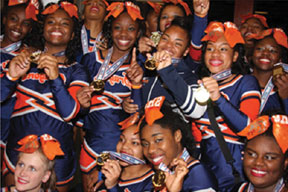 Stranahan High School  Cheerleaders