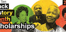 Top 10 Black history month scholarships with deadlines in February 2014