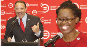 Urnban Leaque National Urban League President & CEO Marc Morial unveils plan to bring its national convention to Broward in 2015