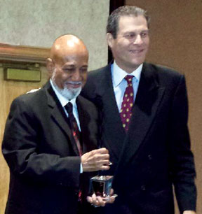 Congressman Alcee L. Hastings and Mitch Cesear Democratic Party Chairman