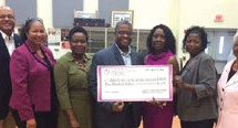 Chi Psi Omega Chapter of AKA charitable arm supports Dillard Center for the Arts Jazz Ensemble