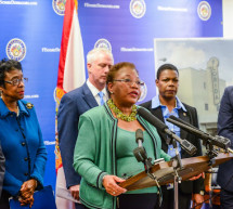 Senator Geraldine Thompson Florida Legislators announce two new Bills to protect the right to vote