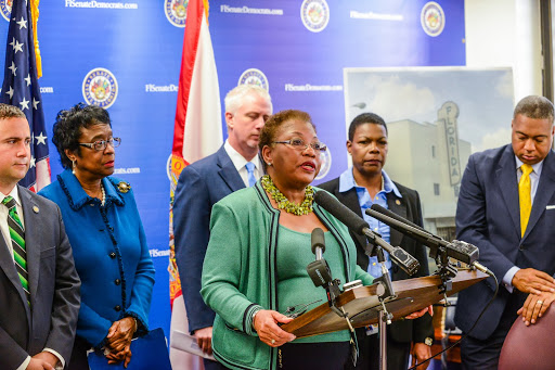 DSC 4428 Senator Geraldine Thompson Florida Legislators announce two new Bills to protect the right to vote