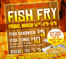 Westside Gazette Newspaper Fish Fry
