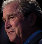 BUSH Bush says education achievement gap is 'scandalous'