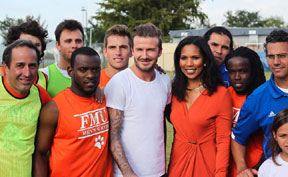 Beckham Pic 2 Soccer megastar, David Beckham, visits Florida Memorial University