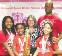 BCPS Castle Hill Elementary all-girls team nationally ranked No. 2 in chess
